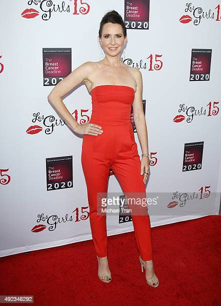 Janie Bryant arrives at the 15th Annual Les Girls Cabaret held at Avalon on October 11 2015 in Hollywood California