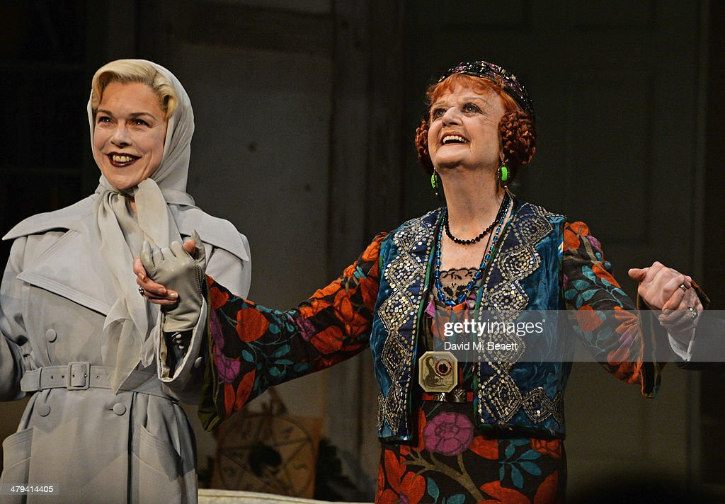 Blithe Spirit Press Night Curtain Call Photos And Images