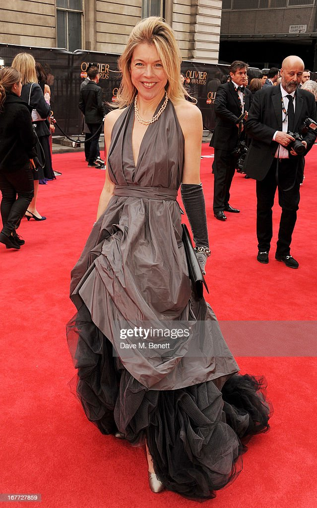 Janie Dee arrives at The Laurence Olivier Awards 2013 at The Royal Opera House on April 28, 2013 in London, England.