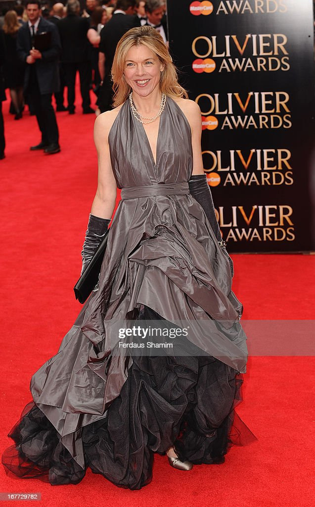 Janie Dee attends The Laurence Olivier Awards at The Royal Opera House on April 28, 2013 sLondon, England.