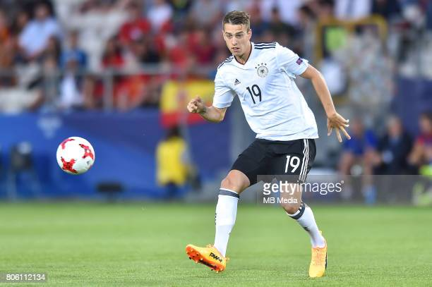 Janik Haberer during the UEFA European Under21 final match between Germany and Spain on June 30 2017 in Krakow Poland