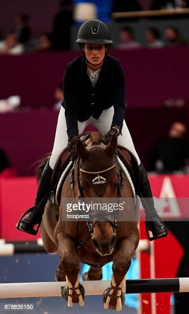 Janika Sprunger attends the Madrid Horse Week 2017 at IFEMA on November 24 2017 in Madrid Spain