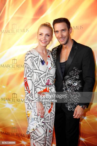 Janin Ullmann and Marcel Remus attend the Remus Lifestyle Night on August 3 2017 in Palma de Mallorca Spain