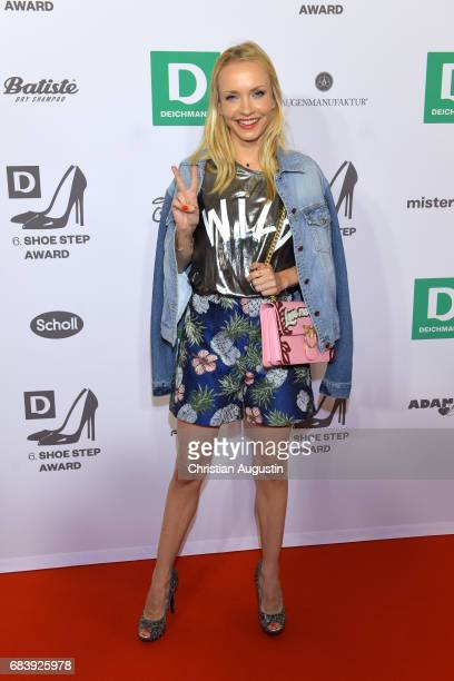 Janin Ullmann attends the Deichmann Shoe Step of the year award at Curio Haus on May 16 2017 in Hamburg Germany