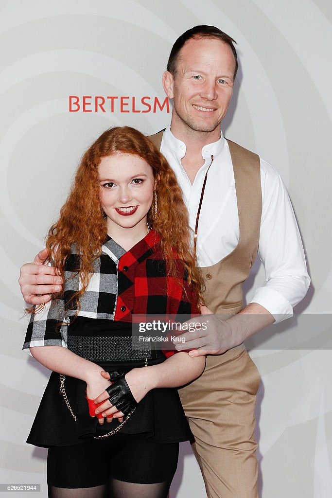 Janina Becker and Alexander Leipold attend the Rosenball 2016 on April 30 in Berlin, Germany.