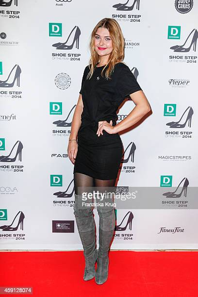 Janina Delia Schmidt attends the Deichmann Shoe Step of the Year 2014 on November 17 2014 in Hamburg Germany