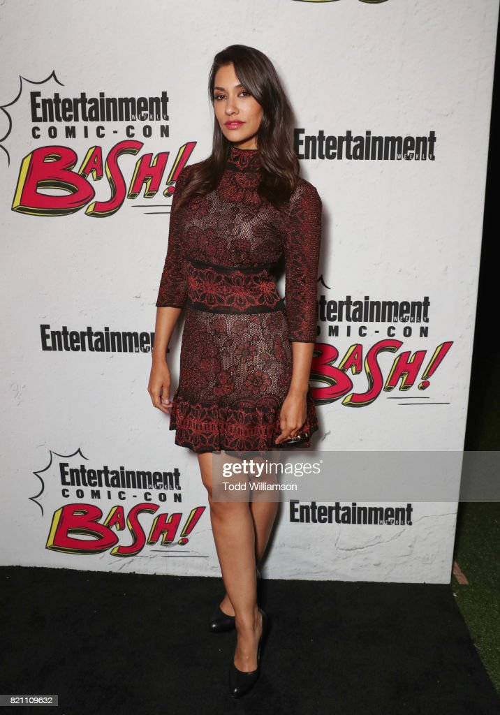 Janina Gavankar at Entertainment Weekly's annual Comic-Con party in celebration of Comic-Con 2017 at Float at Hard Rock Hotel San Diego on July 22, 2017 in San Diego, California.