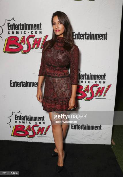 Janina Gavankar at Entertainment Weekly's annual ComicCon party in celebration of ComicCon 2017 at Float at Hard Rock Hotel San Diego on July 22 2017...