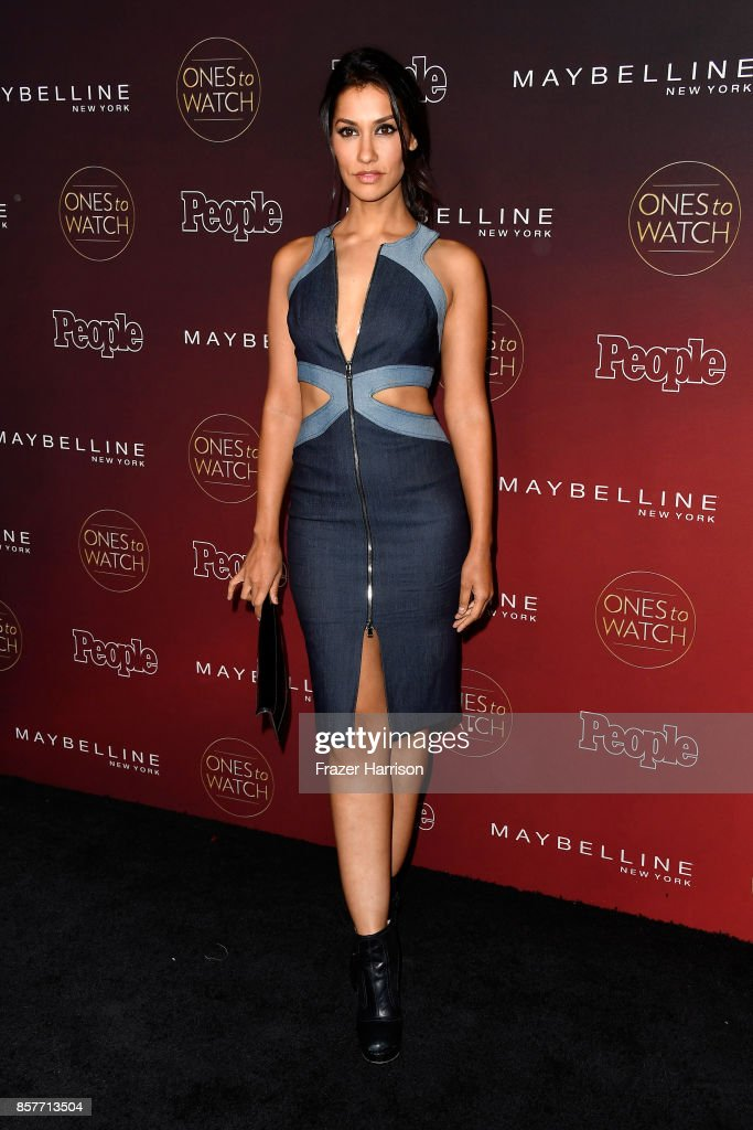 Janina Gavankar attends People's 'Ones To Watch' at NeueHouse Hollywood on October 4, 2017 in Los Angeles, California.