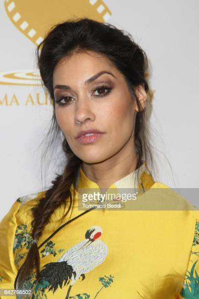 Janina Gavankar attends the 53rd Annual Cinema Audio Society Awards held at Omni Los Angeles Hotel at California Plaza on February 18 2017 in Los...