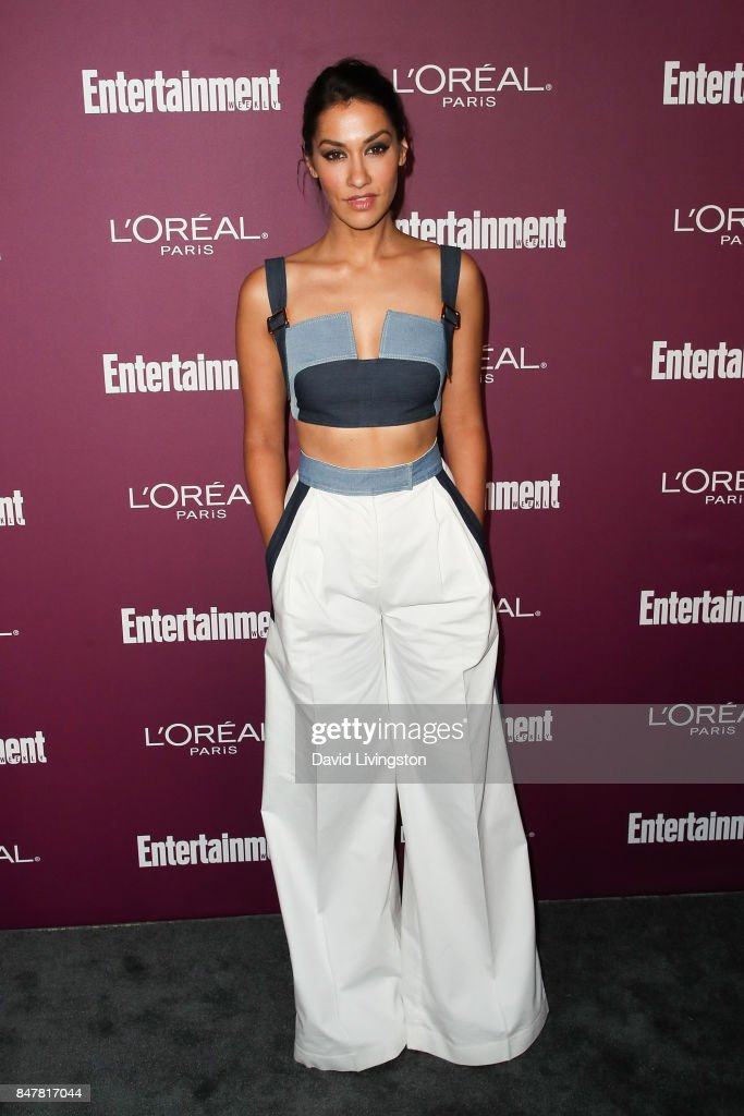 Janina Gavankar attends the Entertainment Weekly's 2017 Pre-Emmy Party at the Sunset Tower Hotel on September 15, 2017 in West Hollywood, California.