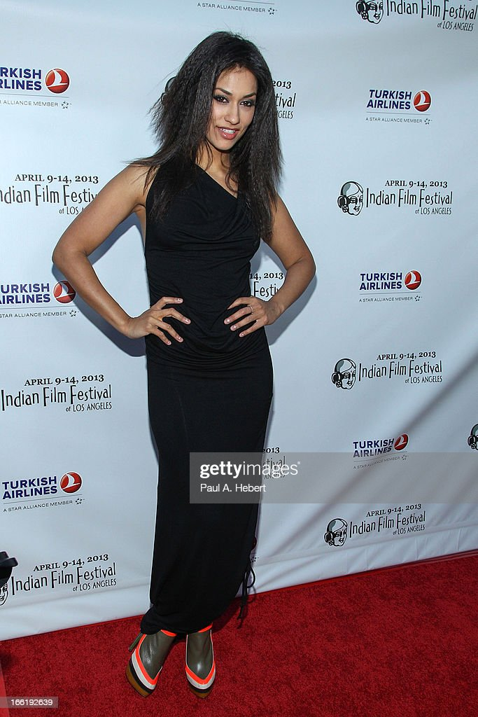 Janina Gavankar attends the Indian Film Festival Of Los Angeles (IFFLA) Opening Night Gala For 'Gangs Of Wasseypur' on April 9, 2013 in Hollywood, California.
