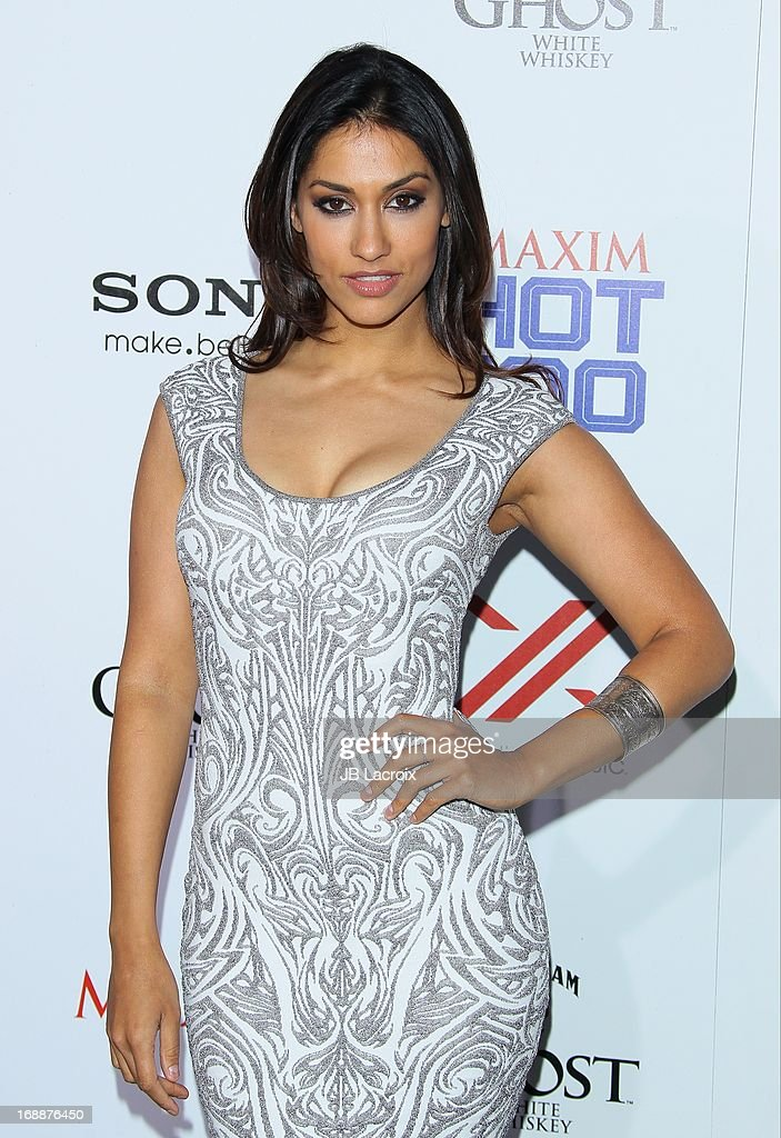 Janina Gavankar attends the Maxim 2013 Hot 100 party held at Create on May 15, 2013 in Hollywood, California.