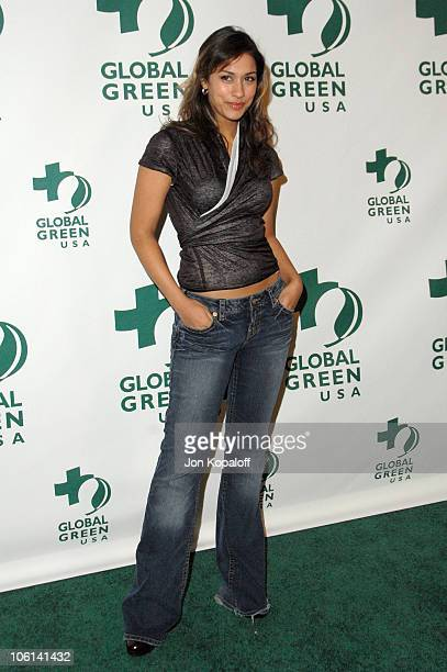 Janina Gavankar during Global Green USA 2007 PreOscar Celebration to Benefit Global Warming Arrivals at The Avalon in Hollywood California United...
