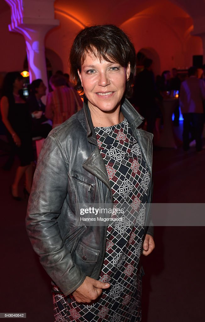 Janina Hartwig during the Audi Director's Cut during the Munich Film Festival 2016 at Praterinsel on June 25, 2016 in Munich, Germany.