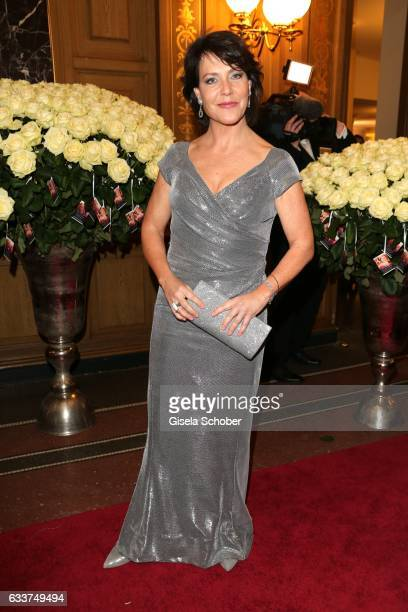 Janina Hartwig during the Semper Opera Ball 2017 at Semperoper on February 3 2017 in Dresden Germany