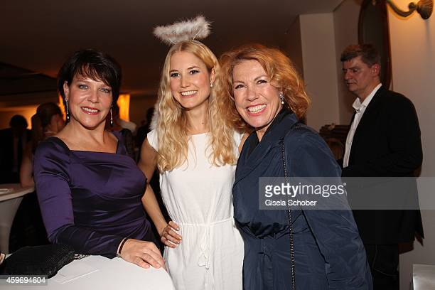 Janina Hartwig Gaby Dohm during the ARD advent dinner hosted by the program director of the tv station Erstes Deutsches Fernsehen at Hotel...