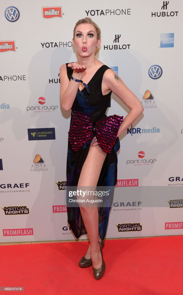 Janina Korn attends networking event 'Movie meets Media' at Hotel Atlantic on December 2, 2013 in Hamburg, Germany.
