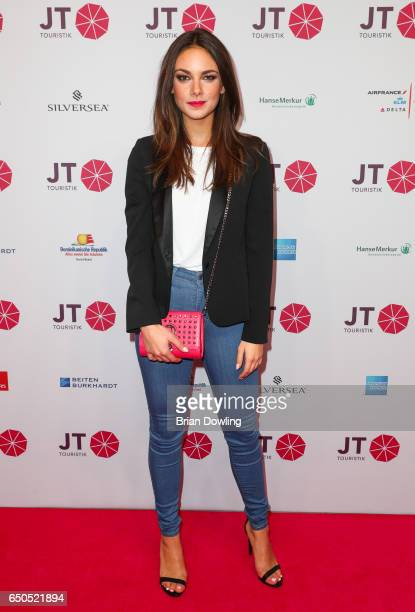 Janina Uhse arrives at the JT Touristik party at Hotel De Rome on March 9 2017 in Berli