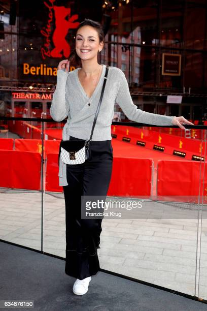 Janina Uhse attends the Audi Berlinale Brunch during the 67th Berlinale International Film Festival on February 12 2017 in Berlin Germany