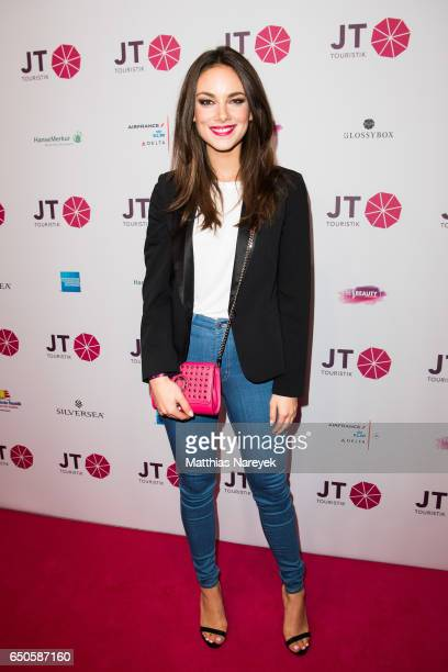 Janina Uhse attends the JT Touristik party at Hotel De Rome on March 9 2017 in Berlin Germany