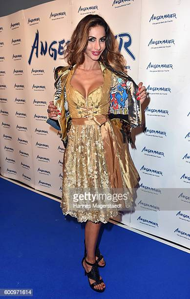 Janina Youssefian during the Angermaier Kicks Off Oktoberfest Season With 'TrachtenNacht' on September 8 2016 in Munich Germany