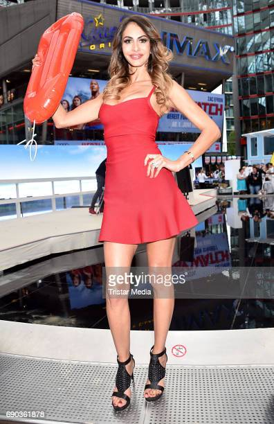 Janina Youssefian during the Baywatch European Premiere Party on May 31 2017 in Berlin Germany
