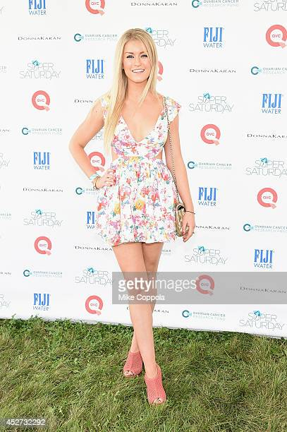 Janine Booth attends the OCRF's 17th Annual Super Saturday Hosted By Kelly Ripa And Donna Karan on July 26 2014 in New York City