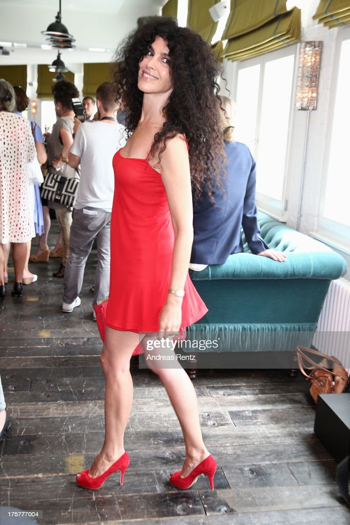 Janine C. White attends the DKMS LIFE Charity Ladies lunch at Soho House on August 8, 2013 in Berlin, Germany.