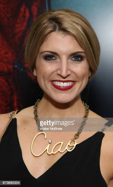 Janine Divita attends the Broadway Opening Night performance of 'Bandstand' at the Bernard B Jacobs Theatre on 4/26/2017 in New York City