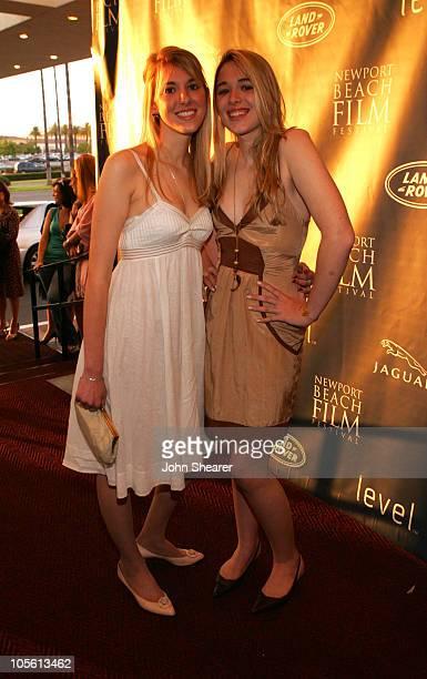 Janine Doyon and Suzanne Doyon during 2006 Newport Beach Film Festival 'Neverwas' Screening at Edwards Big Newport in Newport Beach California United...