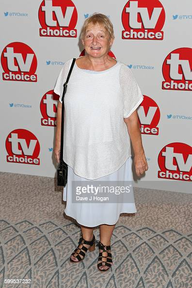 Janine Duvitski arrives for the TVChoice Awards at The Dorchester on September 5 2016 in London England