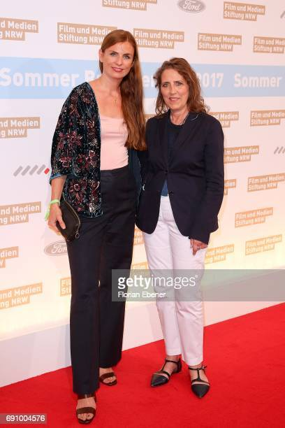 Janine Jackowski and Petra Mueller attend Industry Meeting Of The 'Film and Media Fundation North RhineWestphalia' at Wolkenburg on May 31 2017 in...