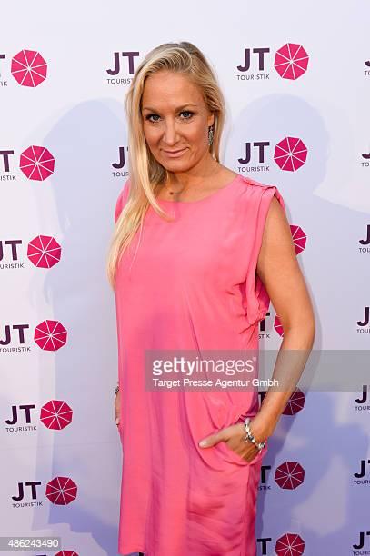 Janine Kunze attends the JT Touristik BBQ on September 2 2015 in Berlin Germany