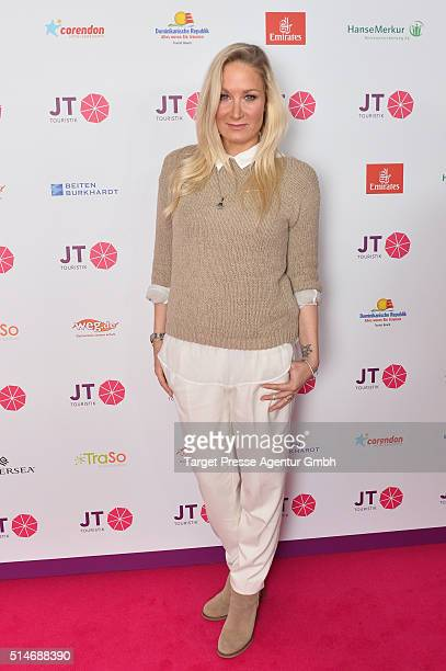 Janine Kunze attends the JT Touristik Celebrates ITB Party at Soho House on March 10 2016 in Berlin Germany
