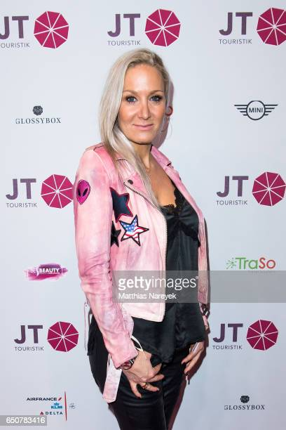 Janine Kunze attends the JT Touristik party at Hotel De Rome on March 9 2017 in Berlin Germany