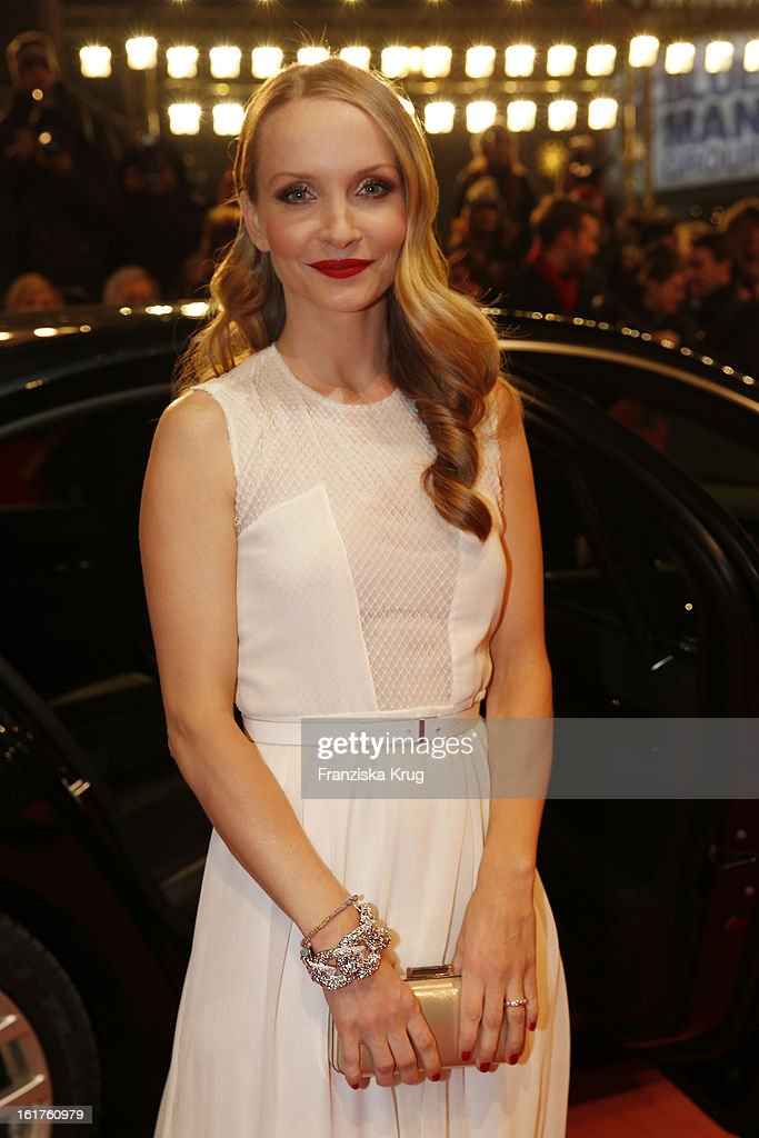 Janine Reinhardt attends 'The Croods' Premiere - BMW at the 63rd Berlinale International Film Festival at Berlinale Palast on February 15, 2013 in Berlin, Germany.