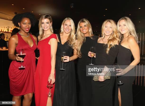 Janine Rubenstein Emily Strohm Lauren Locke Samantha Wenig and Paige Garrett attend Global NonProfit Beyond Type 1 and Emporio Armani's 'Notte al...