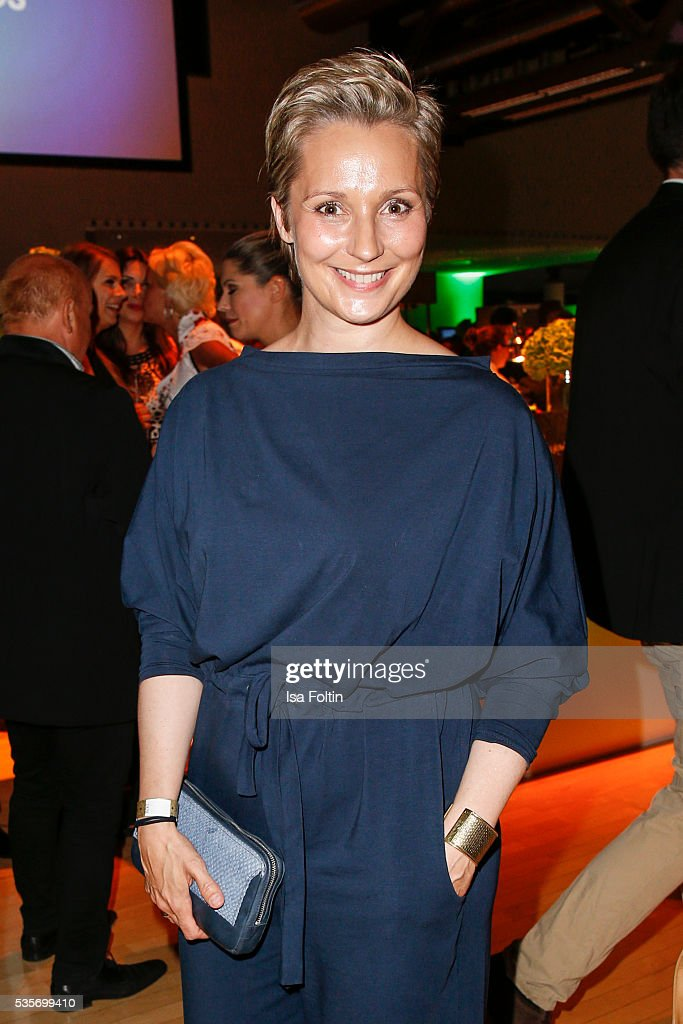 Janine Steeger during the Green Tec Award After Show Party at ICM Munich on May 29, 2016 in Munich, Germany.