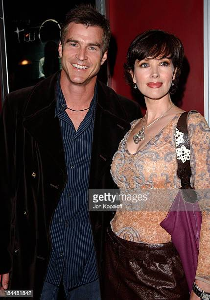 Janine Turner and Robert Merrill during 'The Ring Two' Special Los Angeles Screening at ArcLight Theater in Hollywood California United States