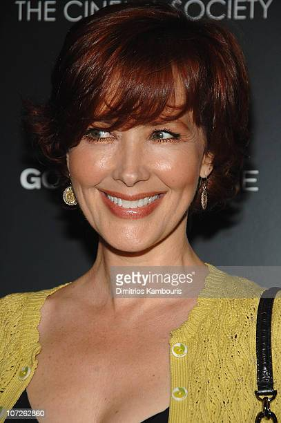 Janine Turner attends The Cinema Society and Details Magazine Screening of 'Gone Baby Gone' at the IFC Center on October 16 2007 in New York City