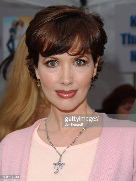 Janine Turner during 'Ice Princess' Los Angeles Premiere Arrivals at El Capitan Theater in Hollywood California United States