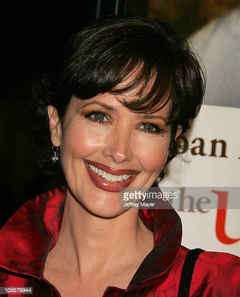 Janine Turner during 'The Upside of Anger' Los Angeles Premiere Arrivals at The National in Westwood California United States