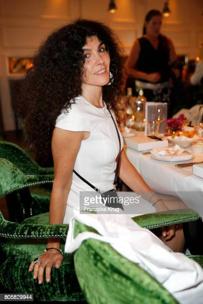 Janine White attends the Annabelle Mandeng Hosts Ladies Dinner In Berlin on July 2 2017 in Berlin Germany