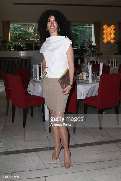 Janine White attends the DKMS Life charity ladies's lunch at Silbersaal on May 5 2011 in Berlin Germany