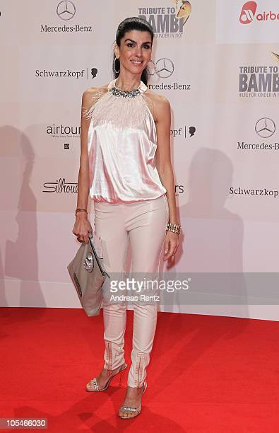 Janine White attends the 'Tribute to Bambi' Charity Gala at Station on October 14 2010 in Berlin Germany