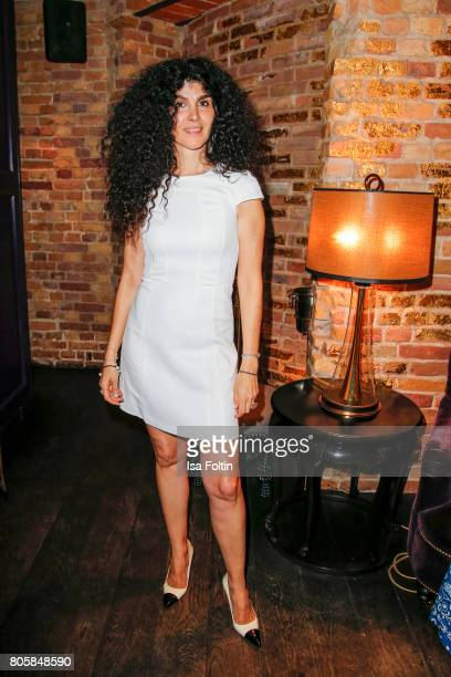 Janine White during the host of Annabelle Mandengs Ladies Dinner at Hotel Zoo on July 2 2017 in Berlin Germany
