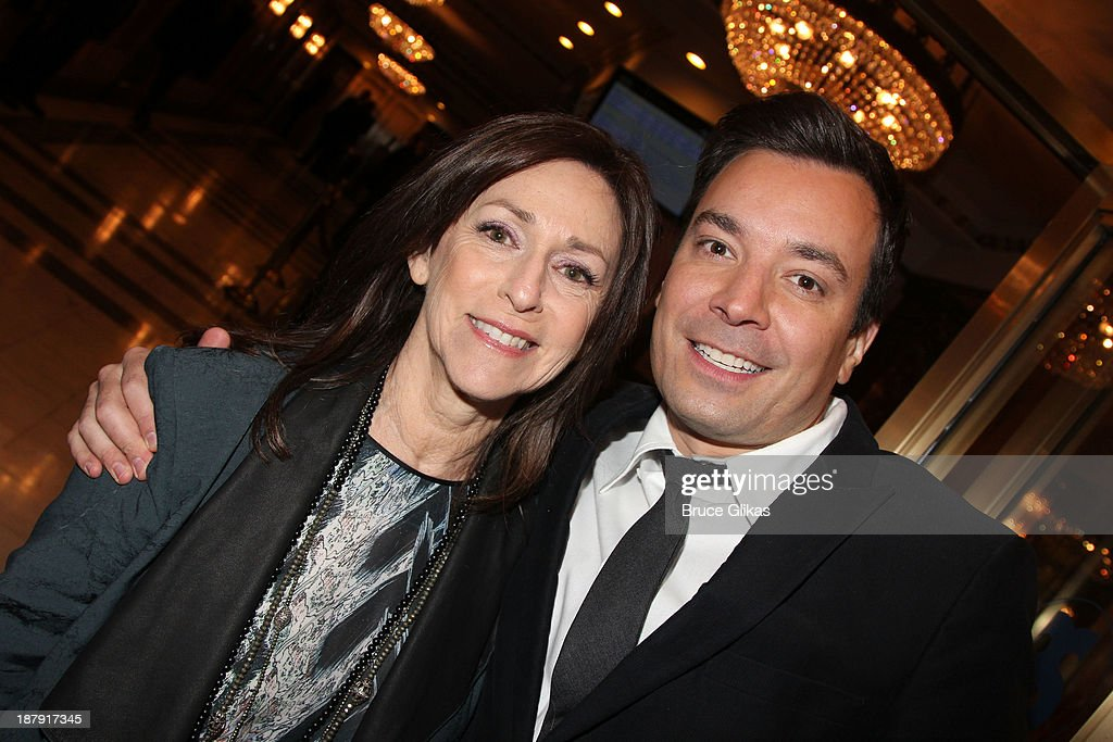 Janis Crystal and Jimmy Fallon attend the '700 Sundays' welcome back to Broadway at the Imperial Theatre on November 13, 2013 in New York City.