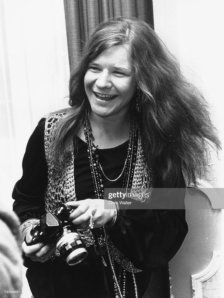 Janis Joplin 1969 at the Music File Photos 1960's in London, United Kingdom.