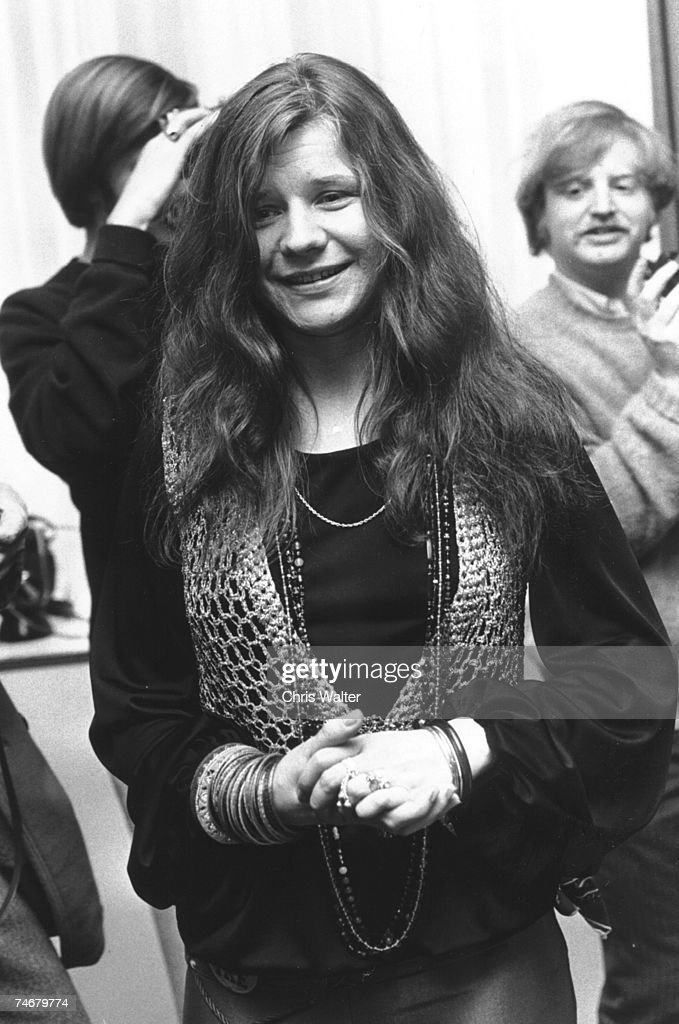 Janis Joplin 1969 during Music File Photos - The 1960s - by Chris Walter at the Music File Photos 1960's in Various Cities, .